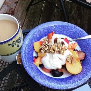 breakfast, fruit, organic, non-gmo, coconut, vegan, nuts, nomnom, produce, fresh